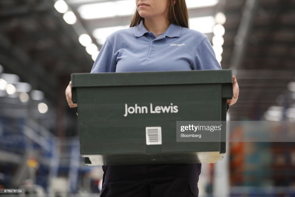 Inside The John Lewis Plc Distribution Centre