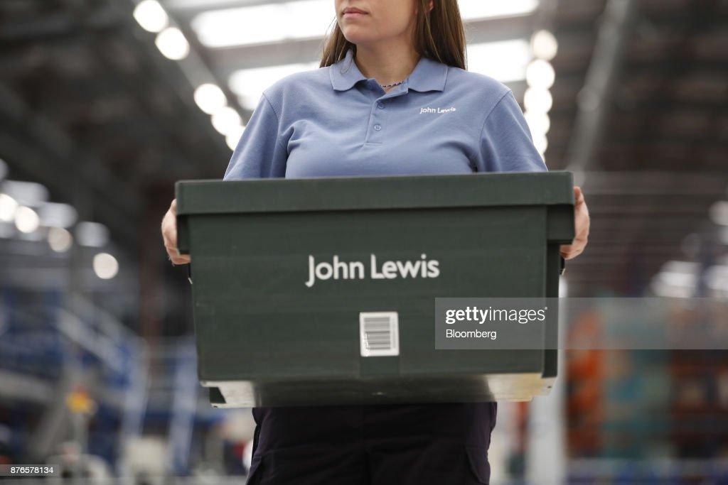 Inside The John Lewis Plc Distribution Centre