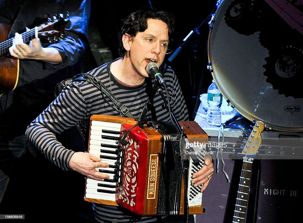 John Linnell of They Might Be Giants performs at Music Hall of Williamsburg on December 29, 2012 in the Brooklyn borough of New York City.