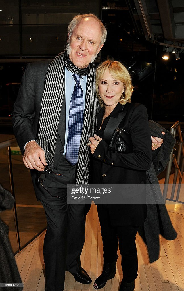John Lithgow (L) and Felicity Kendal attend an after party following the press night performance of Matthew Bourne's Sleeping Beauty at Sadler's Wells Theatre on December 9, 2012 in London, England.