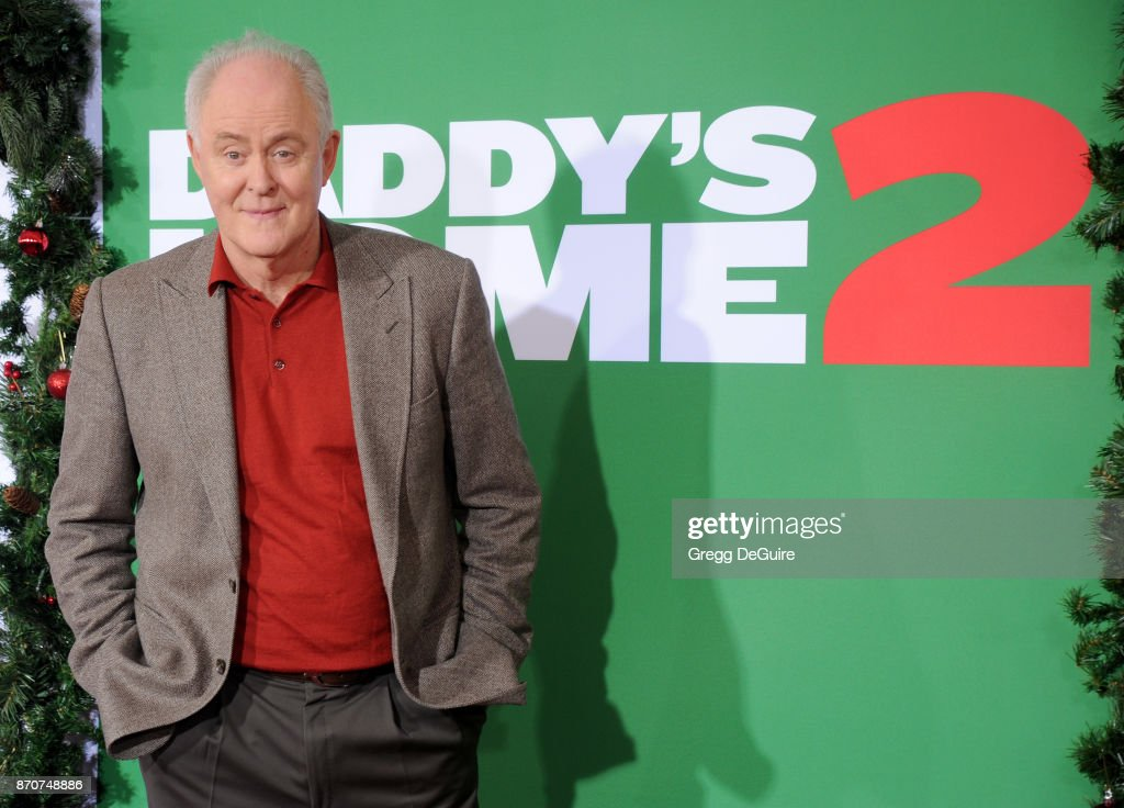 John Lithgow arrives at the premiere of Paramount Pictures' 'Daddy's Home 2' at Regency Village Theatre on November 5, 2017 in Westwood, California.