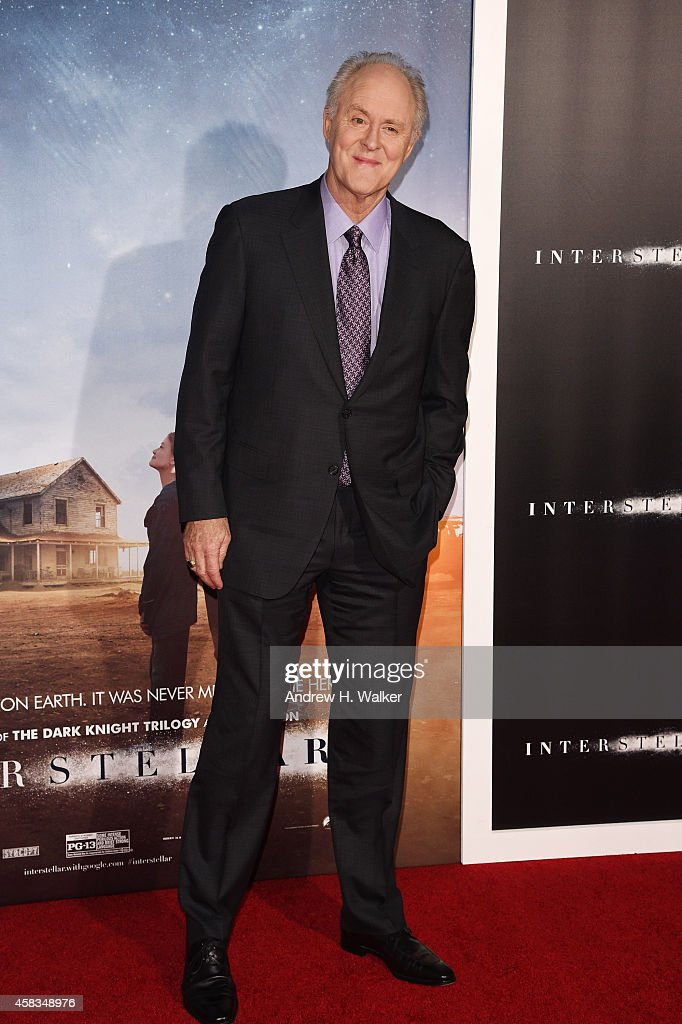 <a gi-track='captionPersonalityLinkClicked' href=/galleries/search?phrase=John+Lithgow&family=editorial&specificpeople=202537 ng-click='$event.stopPropagation()'>John Lithgow</a> attends the 'Interstellar' New York premiere at AMC Lincoln Square Theater on November 3, 2014 in New York City.
