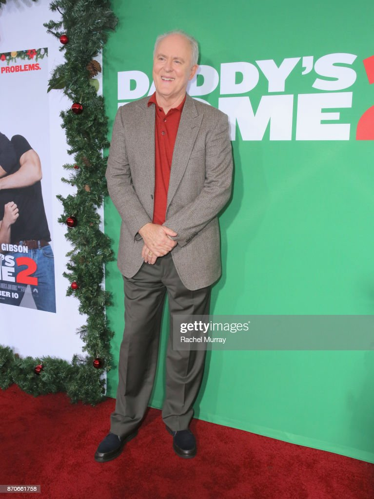 John Lithgow attends the Los Angeles Premiere of 'Daddy's Home 2' at Regency Village Theatre on November 5, 2017 in Westwood, California.