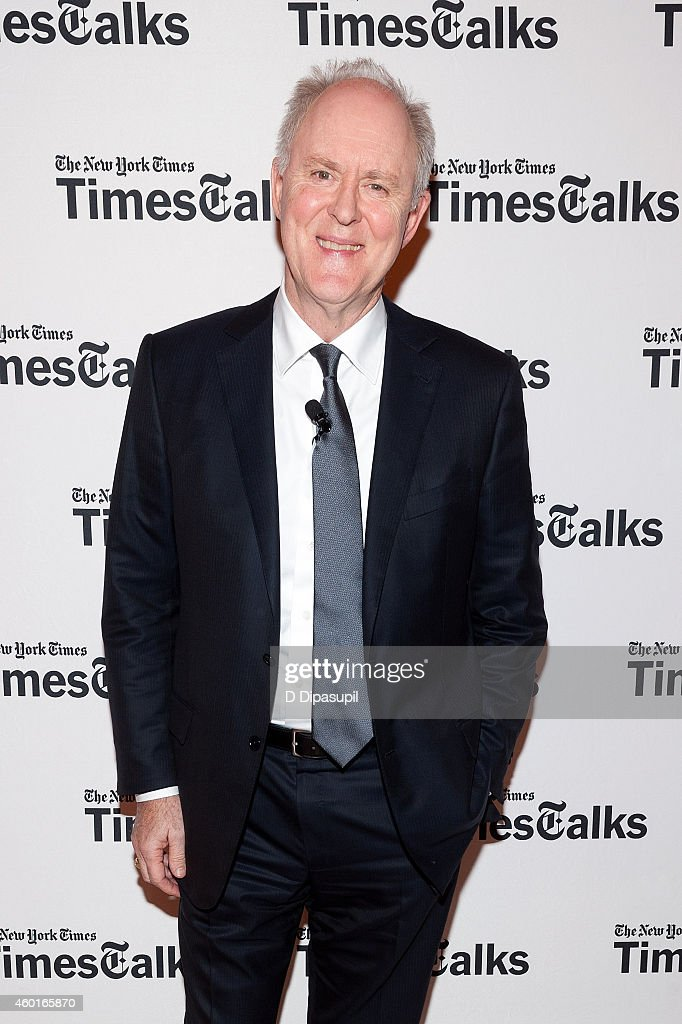 John Lithgow attends TimesTalks Presents: An Evening With The Cast Of 'A Delicate Balance' at The Times Center on December 8, 2014 in New York City.