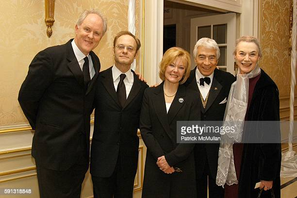 John Lithgow David Hyde Pierce Jane Curtin Gordon Davidson and Marian Seldes attend National Corporate Theatre Fund 2005 Annual Chairman Awards Gala...