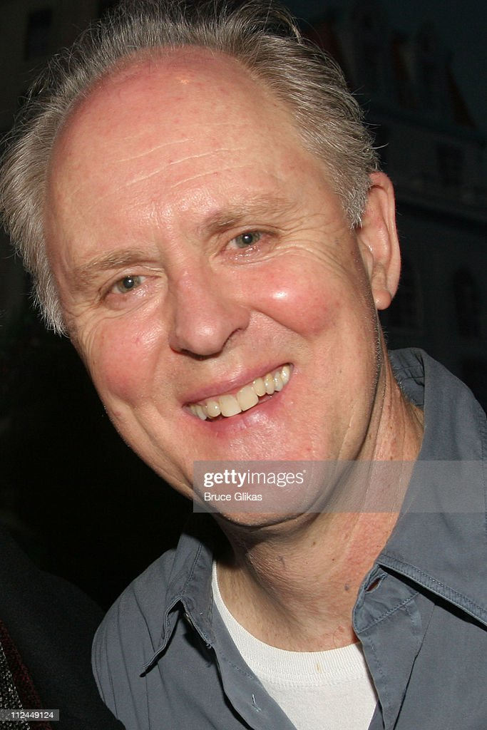 John Lithgow during Celebrities Backstage at 'Dirty Rotten Scoundrels' on Broadway at The Imperial Theater in New York City, New York, United States.