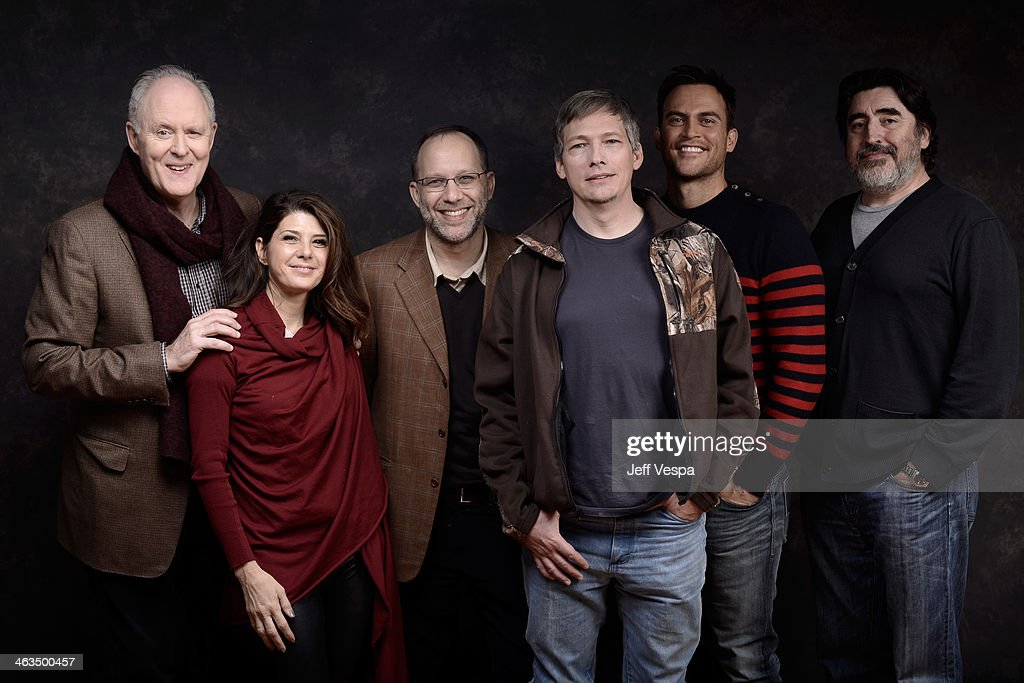 John Lithgow Marisa Tomei Ira Sachs Darren E Burrows Cheyenne Jackson and Alfred Molina pose for a portrait during the 2014 Sundance Film Festival at...