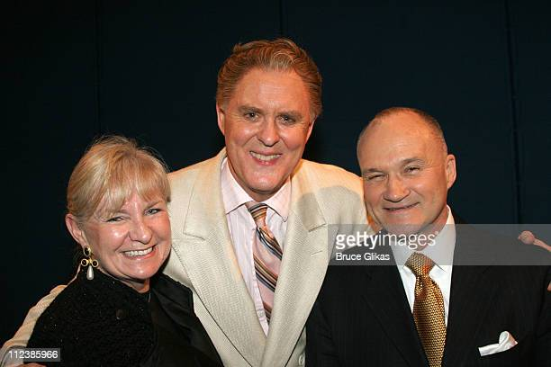 John Lithgow NYPD Commissioner Raymond W Kelly and wife **EXCLUSIVE COVERAGE**