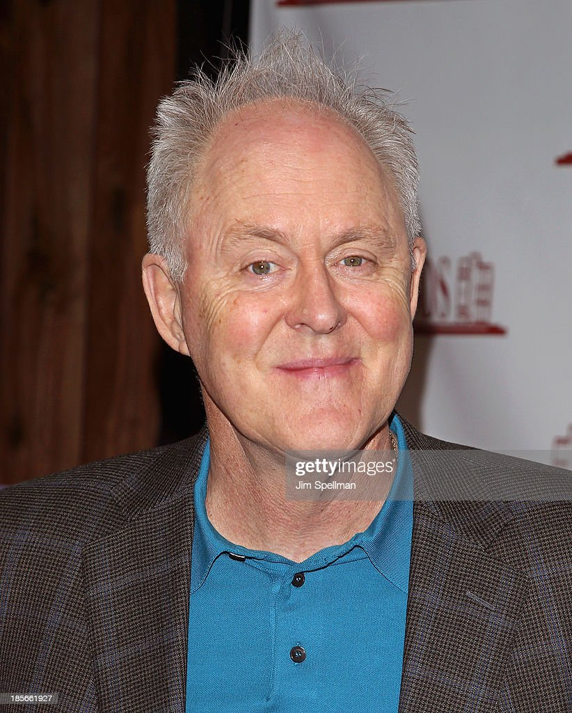 John Lithgow signs copies of his book 'Never Play Next To The Zoo' at Bookends Bookstore on October 23, 2013 in Ridgewood, New Jersey.