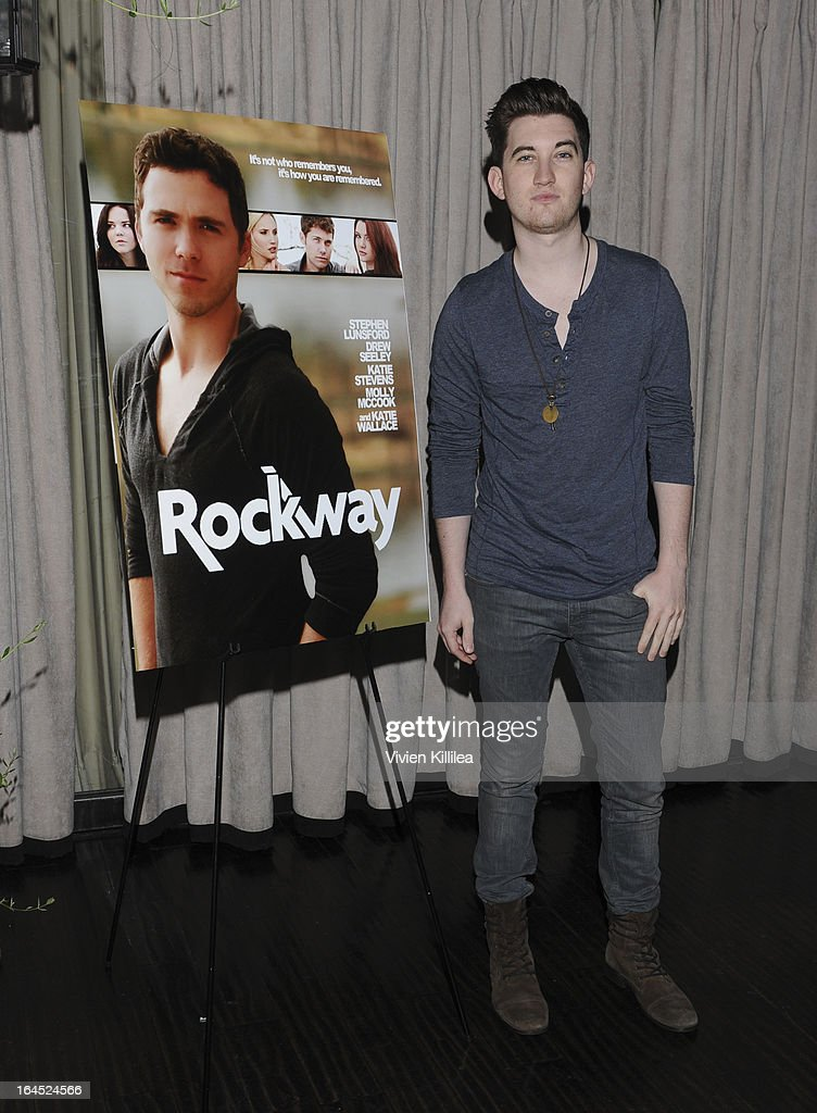 John Lock attends Rock Way Fundraiser at Beso on March 23, 2013 in Hollywood, California.