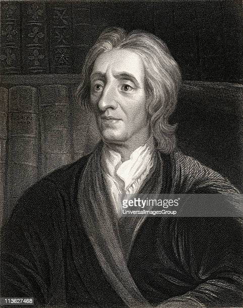 John Locke 16321704 English philosopher who founded the school of empiricismFrom the book 'Lodge's British Portraits' published London 1823