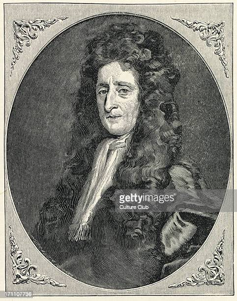 John Locke portrait engraving after the portrait by Burrower English philosopher 1632 1704