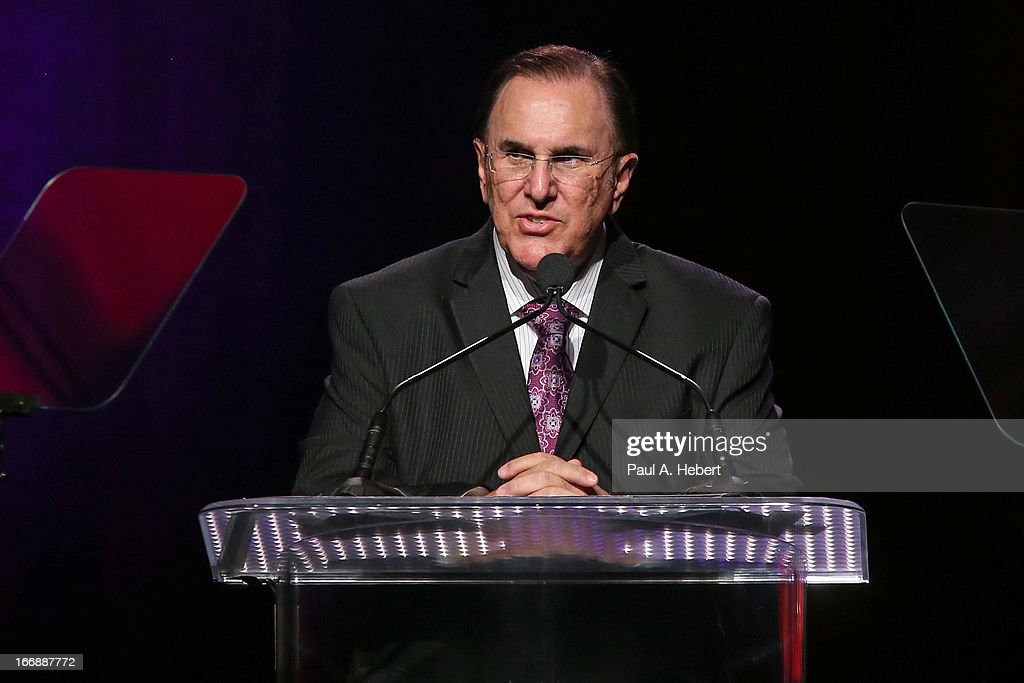 John Lofrumento, CEO of ASCAP, on stage during the 30th Annual ASCAP Pop Music Awards at Loews Hollywood Hotel on April 17, 2013 in Hollywood, California.