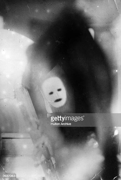 John Logie Baird's original television image of a moving face as transmitted at his public demonstration Scottish electrical engineer and inventor...