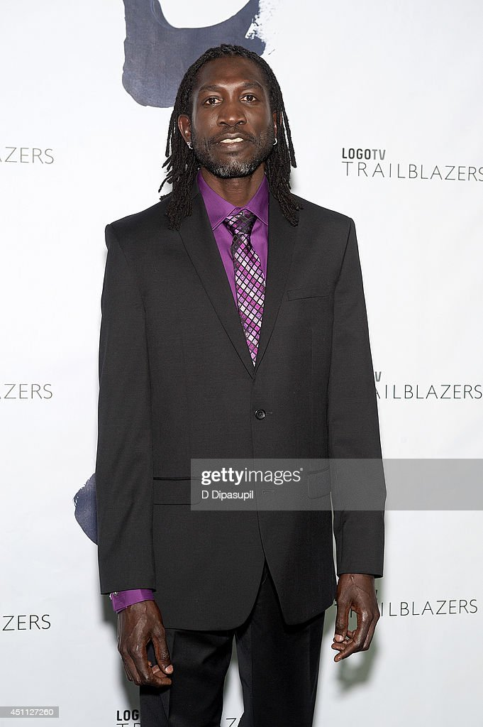 John 'Long Jones' Abdallah Wambere attends LOGO TV's 1st Annual Trailblazers event at the Cathedral of St. John the Divine on June 23, 2014 in New York City.