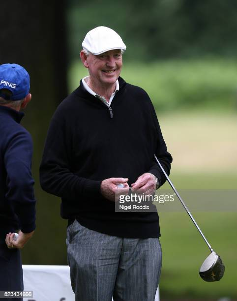 NOTTINGHAM ENGLAND JULY 27 John Lower of Wollaton Park Golf Club during Day 2 of the PGA Super 60s Tournament on July 27 2017 in Nottingham England