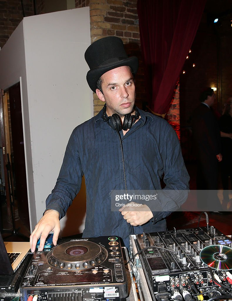 DJ John Lycett Green at the post-show party, The 25th Hour, following The Old Vic's 24 Hour Musicals Celebrity Gala 2012 during which guests drank Jack Daniels Single Barrel, Curtain Raiser cocktails in The Great Halls, Vinopolis, Borough on December 9, 2012 in London, England.