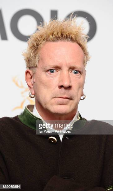 John Lydon at the Mojo Awards at the Brewery in London
