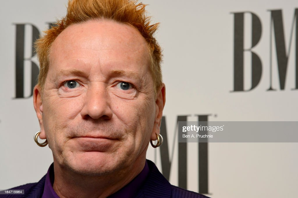 <a gi-track='captionPersonalityLinkClicked' href=/galleries/search?phrase=John+Lydon&family=editorial&specificpeople=240553 ng-click='$event.stopPropagation()'>John Lydon</a> attends the BMI Awards at The Dorchester on October 15, 2013 in London, England.
