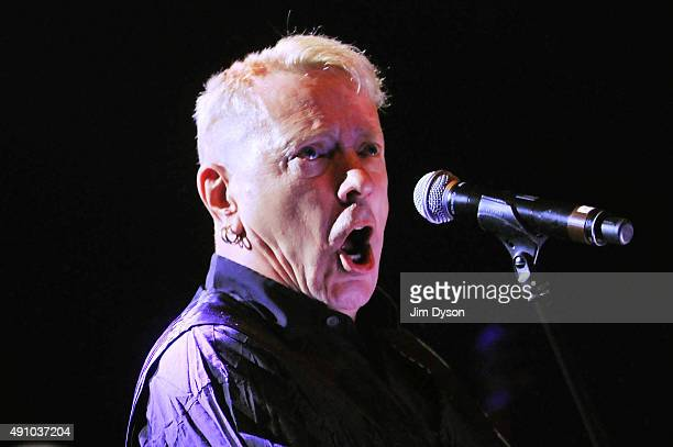 John Lydon of Public Image Limited performs live on stage at O2 Shepherd's Bush Empire on October 2 2015 in London England