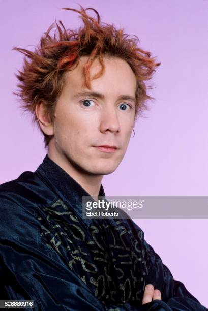 John Lydon of Public Image Ltd in New York City on March 25 1986