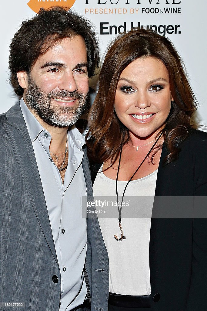 John M. Cusimano and <a gi-track='captionPersonalityLinkClicked' href=/galleries/search?phrase=Rachael+Ray&family=editorial&specificpeople=542712 ng-click='$event.stopPropagation()'>Rachael Ray</a> attend Food Networks 20th birthday celebration at Pier 92 on October 17, 2013 in New York City.