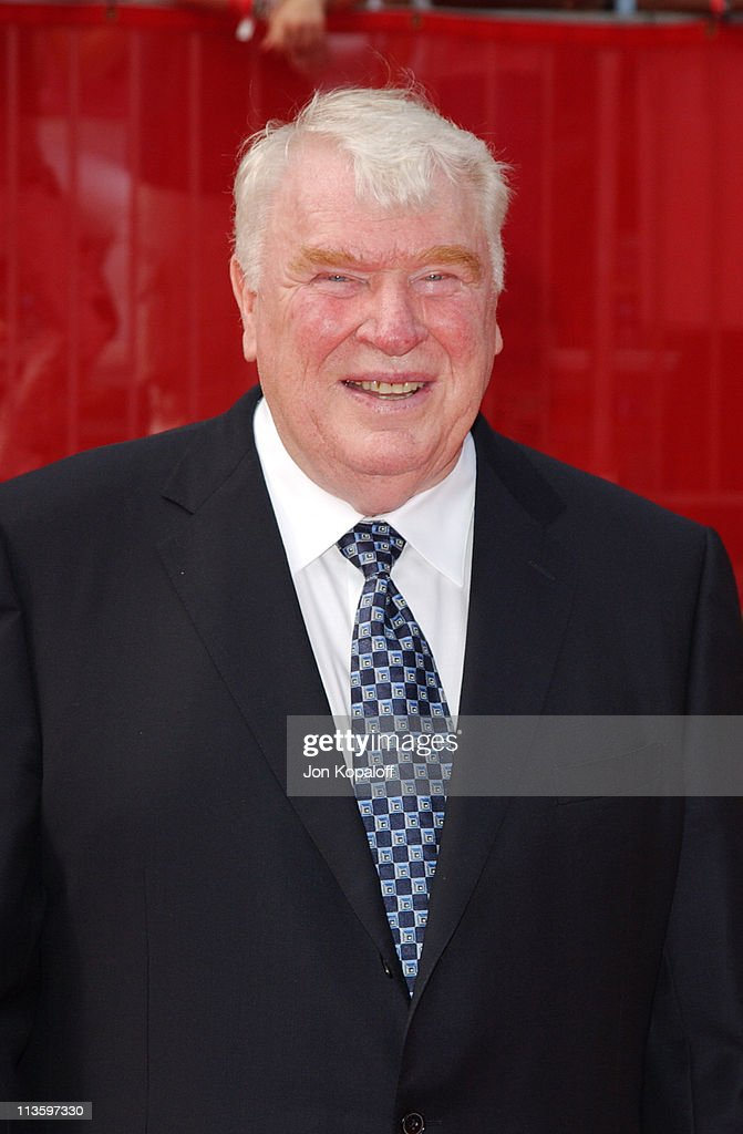 John Madden during 2003 ESPY Awards - Arrivals at Kodak Theatre in Hollywood, California, United States.