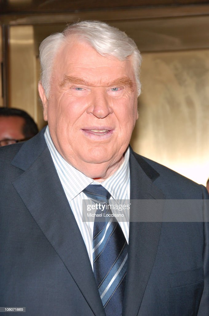 John Madden during NBC 2006-2007 Primetime Upfront at Radio City Music Hall in New York City, New York, United States.