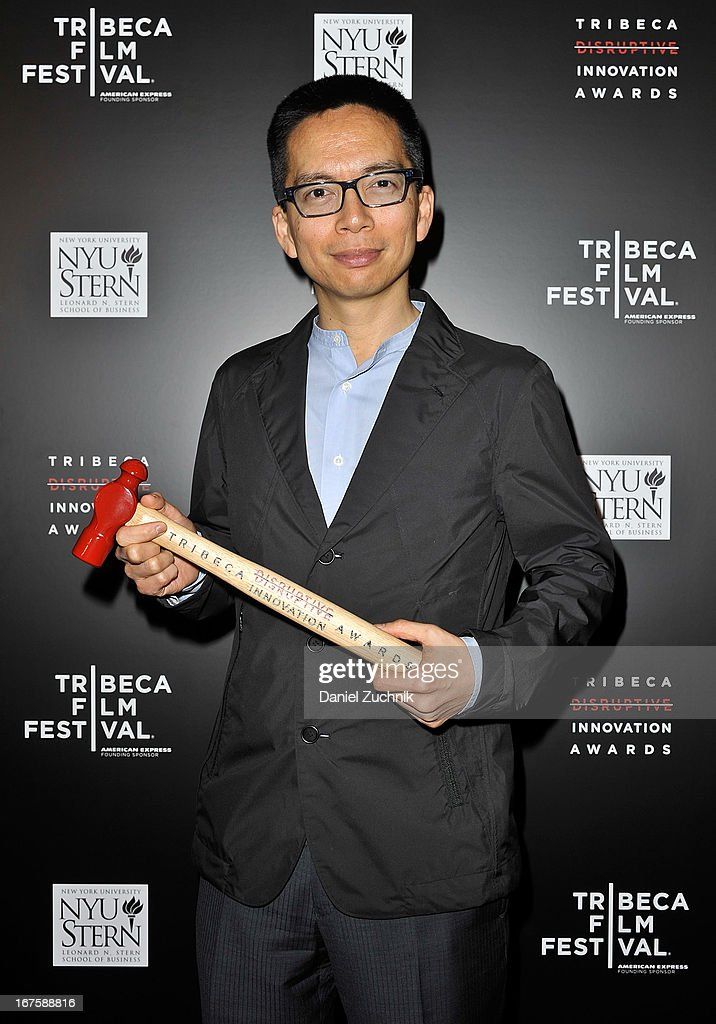 John Maeda attends the 4th annual Tribeca Disruptive Innovation Awards during the 2013 Tribeca Film Festival at NYU Paulson Auditorium on April 26, 2013 in New York City.