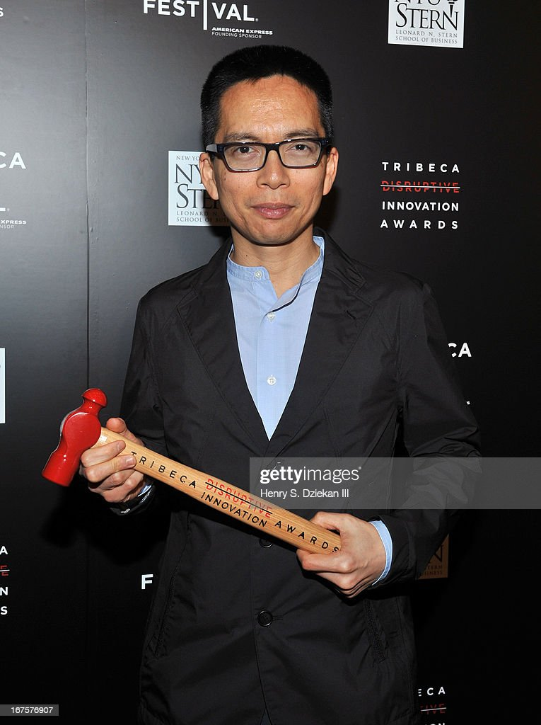 John Maeda attends the Tribeca Disruptive Innovation Awards during the 2013 Tribeca Film Festival at NYU Paulson Auditorium on April 26, 2013 in New York City.