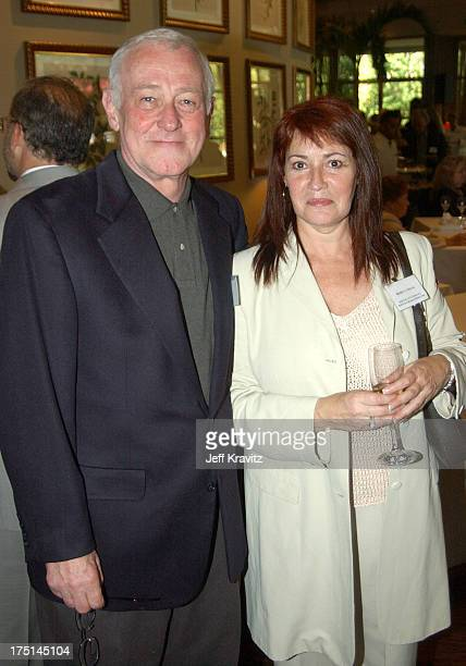 John Mahoney and Rebecca Segal during The 1st Annual BAFTA/LA ATAS Emmy Tea Party at St Regis Hotel in Los Angeles California United States