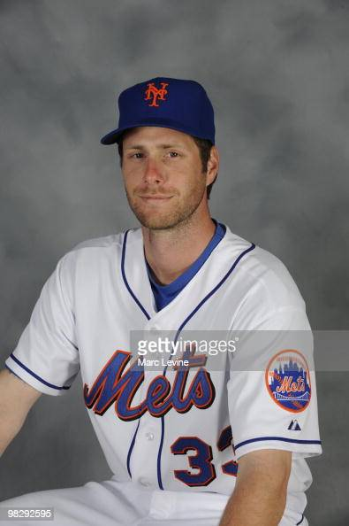 John Maine of the New York Mets poses during Photo Day on Saturday February 27 2010 at Tradition Field in Port St Lucie Florida