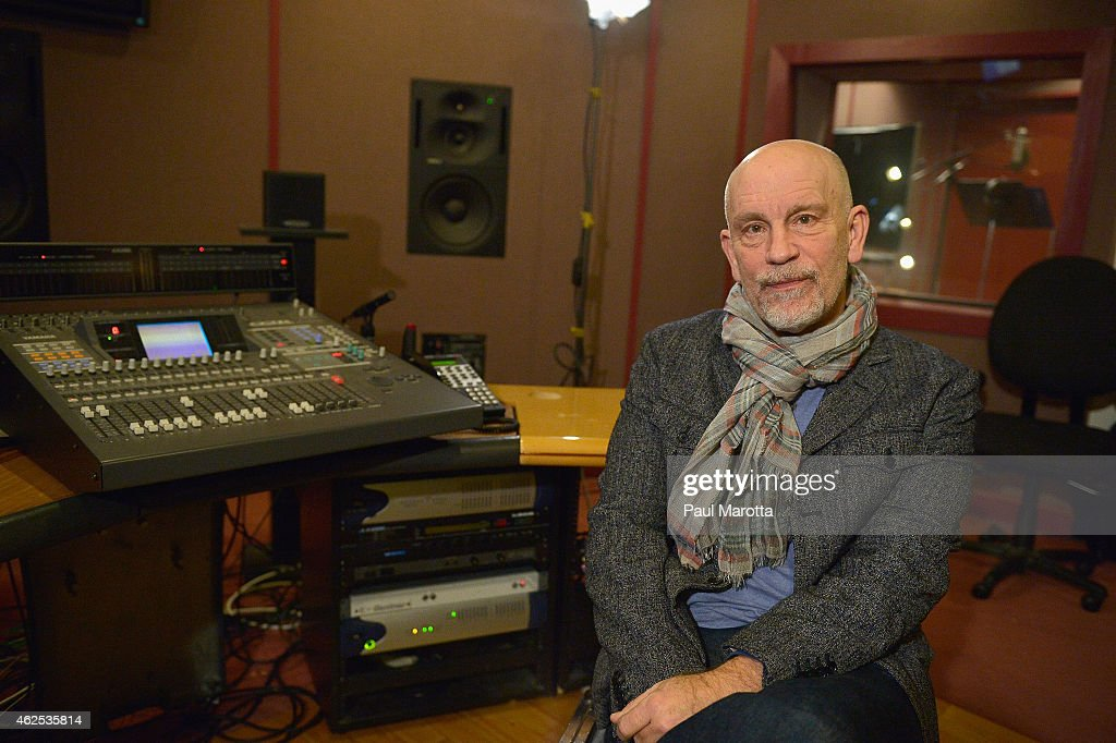 <a gi-track='captionPersonalityLinkClicked' href=/galleries/search?phrase=John+Malkovich&family=editorial&specificpeople=208819 ng-click='$event.stopPropagation()'>John Malkovich</a> at a voice over recording session for Call of Duty: Advanced Warfares 'Exo Zombies' mode, part of the Havoc DLC pack on December 15, 2014 in Boston, Massachusetts.
