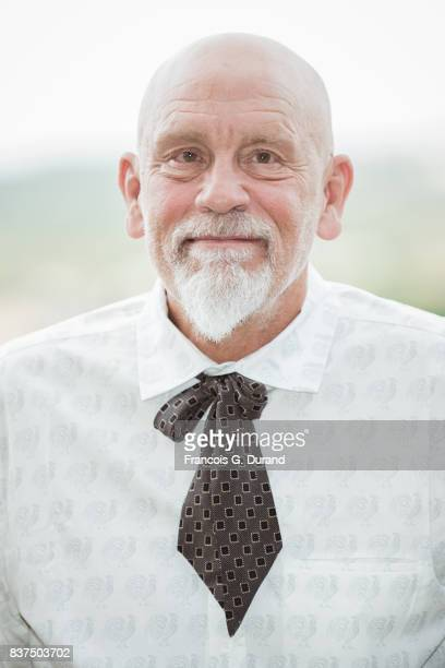 John Malkovich attends the Jury photocall during the 10th Angouleme FrenchSpeaking Film Festival on August 22 2017 in Angouleme France