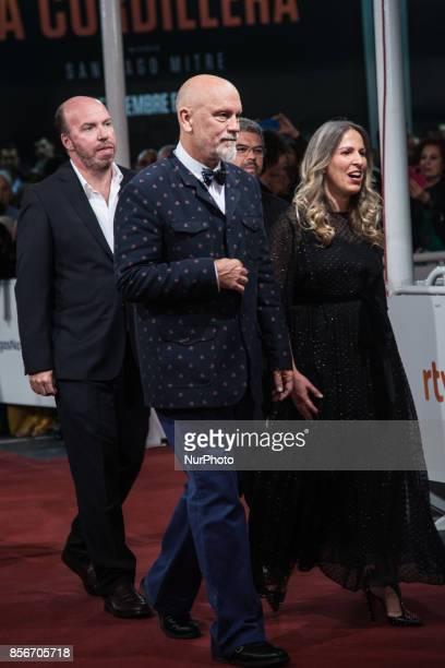 John Malkovich attends the red carpet of the closure gala during 65th San Sebastian Film Festival at Kursaal on September 30 2017 in San Sebastian...