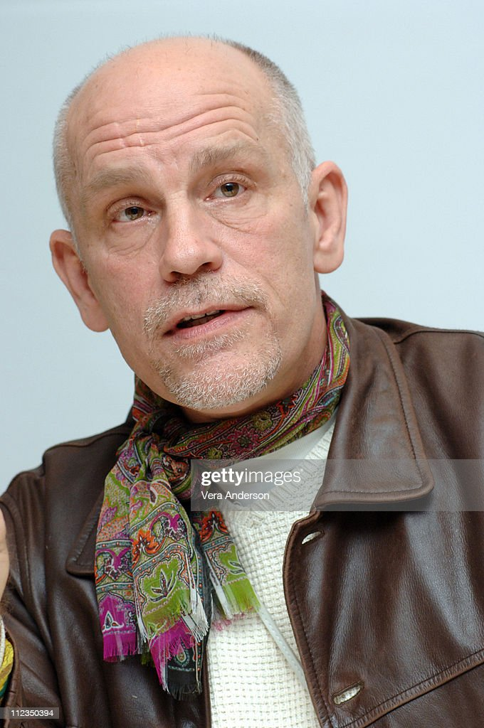 John Malkovich during 'The Libertine' Press Conference with Johnny Depp and John Malkovich at - john-malkovich-during-the-libertine-press-conference-with-johnny-depp-picture-id112350394