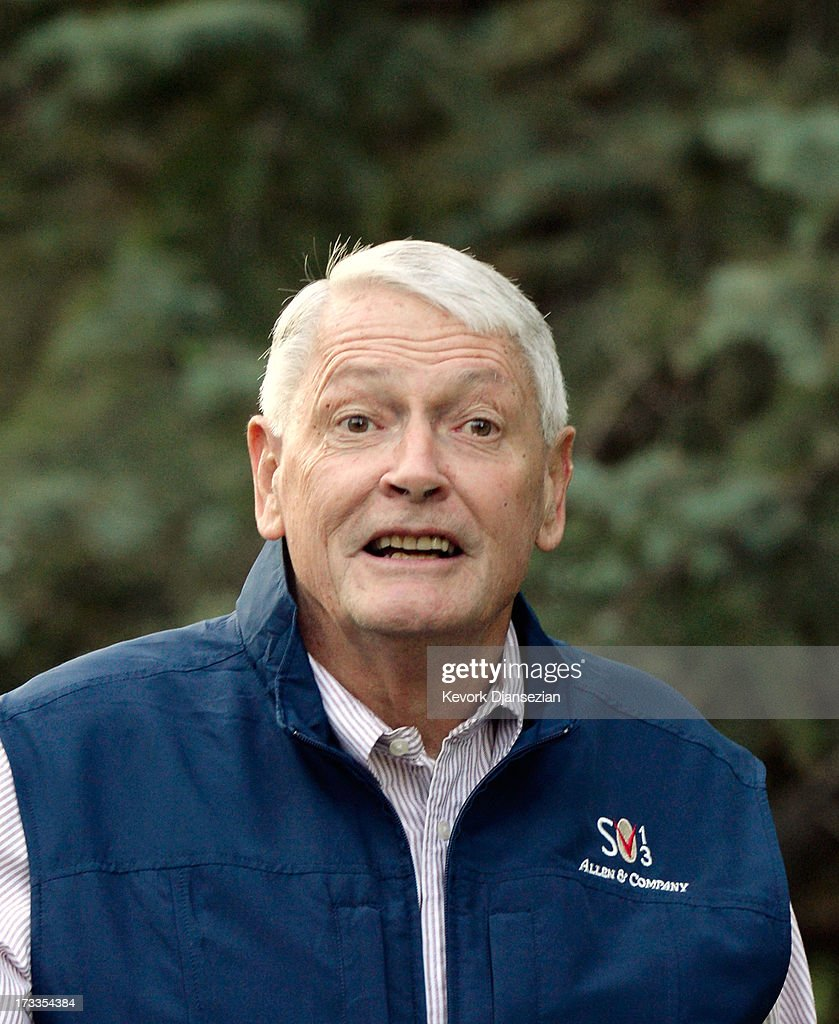 John Malone, chairman of Liberty Media, arrives at the Allen & Co. annual conference on July 12, 2013 in Sun Valley, Idaho. The resort will host corporate leaders for the 31st annual Allen & Co. media and technology conference where some of the wealthiest and most powerful executives in media, finance, politics and tech gather for week long meetings. Past attendees included Warren Buffett, Bill Gates and Mark Zuckerberg.
