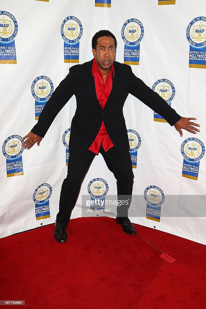 John Marshall Jones arrives at the 23rd annual NAACP Theatre Awards at Saban Theatre on November 11, 2013 in Beverly Hills, California.