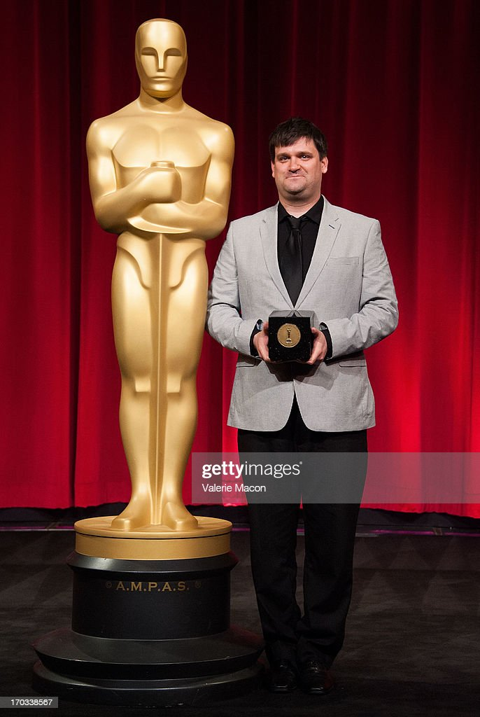 John Mattiuzzi attends The Academy Of Motion Picture Arts And Sciences' 40th Annual Student Academy Awards Ceremony at AMPAS Samuel Goldwyn Theater...