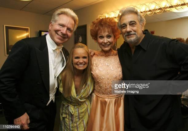 John Mauceri Kristin Chenoweth Carol Lawrence and Placido Domingo *EXCLUSIVE*