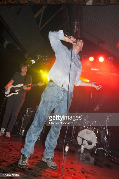 John Maus performs at Festsaal Kreuzberg on November 15 2017 in Berlin Germany