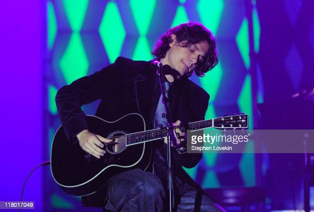 John Mayer honoree during 37th Annual Songwriters Hall of Fame Ceremony Show and Dinner at Marriott Marquis in New York City New York United States