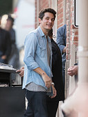 John Mayer is seen at 'Jimmy Kimmel Live' on May 10 2016 in Los Angeles California