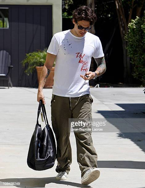 John Mayer is seen on August 17 2010 in Los Angeles California