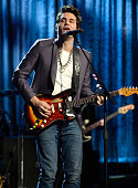 John Mayer performs at 'Howard Stern's Birthday Bash' presented by SiriusXM produced by Howard Stern Productions at Hammerstein Ballroom on January...