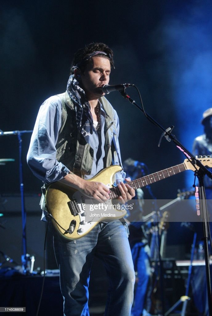 John Mayer performs at Shoreline Amphitheatre on July 26, 2013 in Mountain View, California.