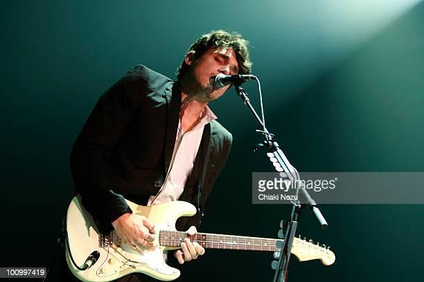 John Mayer performs at Wembley Arena on May 26 2010 in London England