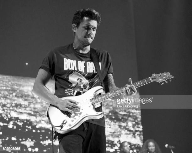 John Mayer performs during The Search For Everything tour at Smoothie King Center on August 9 2017 in New Orleans Louisiana