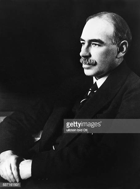 John Maynard Keynes Economist politician mathematician Great Britain Portrait undated