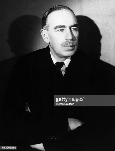 John Maynard Keynes Studio Portrait By Gorden Anthony Late 1930's